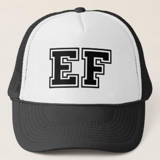 """Casquette Monogramme """"E-F"""" classique"""