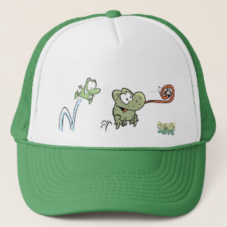Casquette Mort et verrue les grenouilles