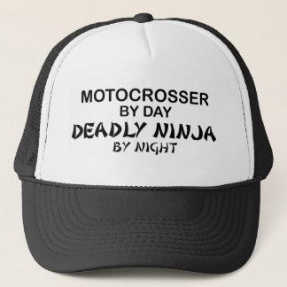 Casquette Motocrosser Ninja mortel par nuit