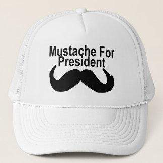 Casquette Moustache pour le président