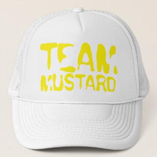 Casquette Moutarde d'équipe