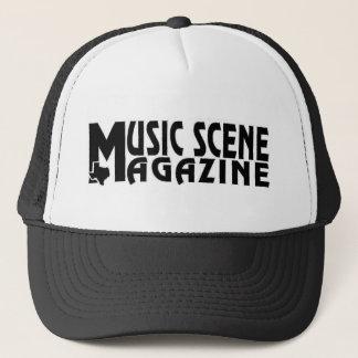 CASQUETTE MUSIC-SCENE-LOGO