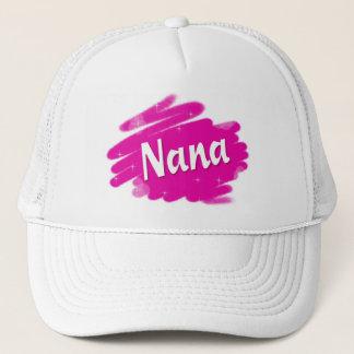 Casquette Nana aime le rose