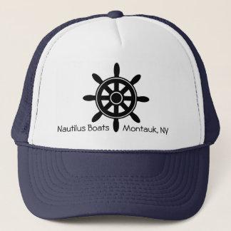 Casquette nautique d'affaires de bateau de volant