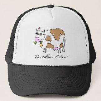 Casquette N'ayez pas une vache