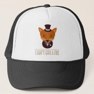 Casquette Ne donnez pas à un Fox l'animal comique