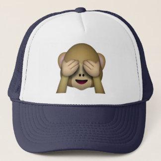 Casquette Ne voir l'aucun singe mauvais - Emoji