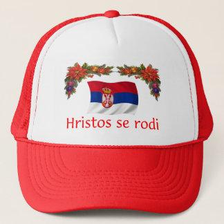 Casquette Noël de la Serbie