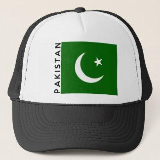 Casquette nom des textes de drapeau de pays du Pakistan