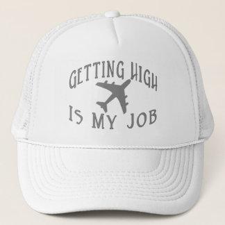 Casquette Obtention du haut pilote de ligne aérienne