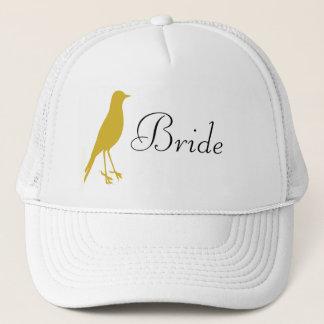 Casquette oiseau d'or