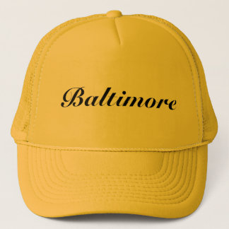 Casquette Or de Baltimore