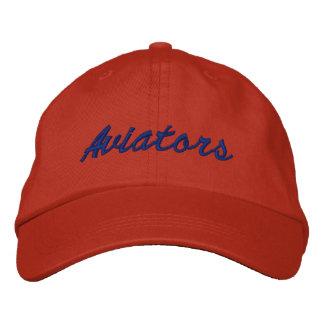 """Casquette orange indépendant de """"aviateurs"""" des casquette de baseball"""