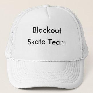 Casquette Panne d'électricité, équipe de patin