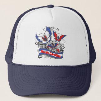Casquette Papillon de patriotisme de la Caroline du Nord