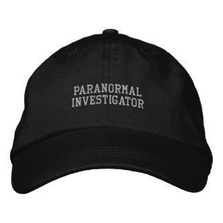 Casquette paranormal d'investigateur