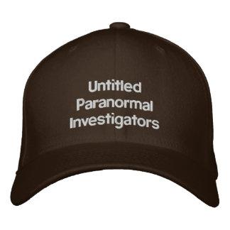 Casquette paranormal d'UPI