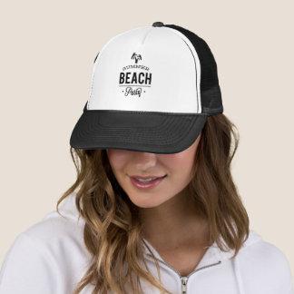Casquette Partie de plage d'été
