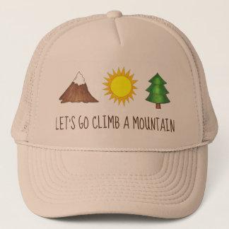 Casquette Partons montée un camp de Sun de pin de montagne