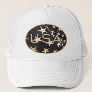 Casquette patriotique de camionneur de casquette