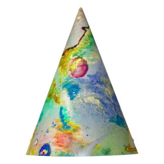 Casquette peint à la main de partie de galaxie chapeaux de fètes