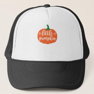 Casquette Peu de T-shirt de Halloween de citrouille
