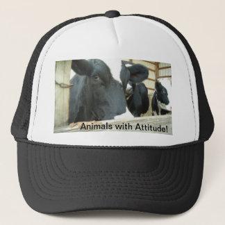 Casquette Photographie de ferme - animaux avec l'attitude !