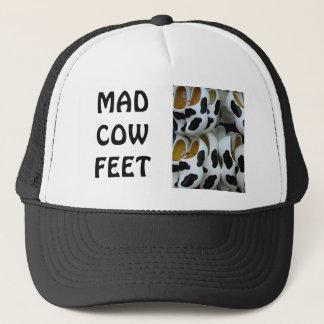 Casquette Pieds de vache folle,