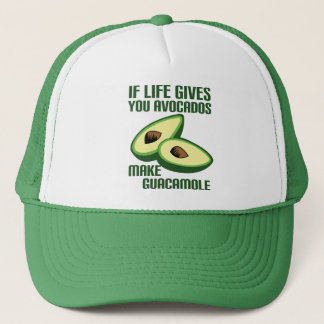 Casquette Plaisanterie drôle d'avocat de guacamole