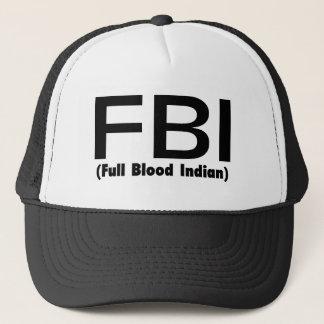 Casquette Plein Blooded Indien de FBI