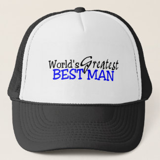 Casquette Plus grand meilleur homme des mondes