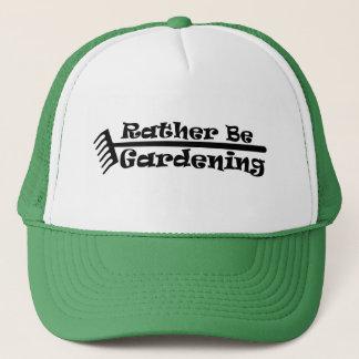 Casquette Plutôt fasse du jardinage