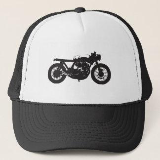 Casquette Pochoir de cool de cru de moto de coureur/gosse de