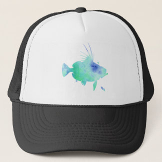 Casquette poissons d'aqua de vibraphone d'océan
