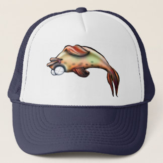 Casquette poissons morts