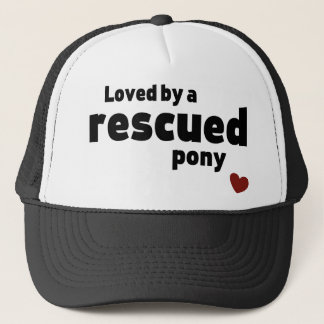 Casquette Poney secouru