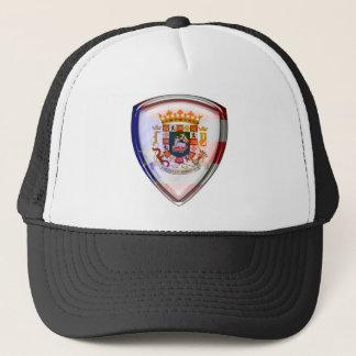 Casquette Porto Rico - joint sur le bouclier