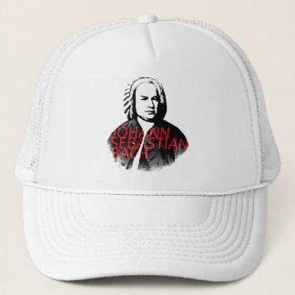 Casquette Portrait de Johann Sebastian Bach avec les lettres