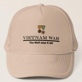 Casquette pour des vétérans du Vietnam