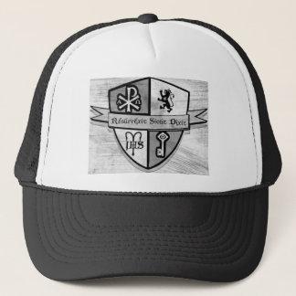 Casquette Pour le logo noir et blanc de roi et de pays