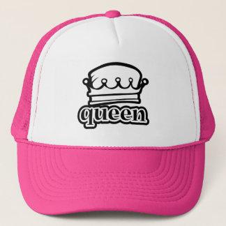 Casquette Pourcentage royal de couronne de ~ de reine