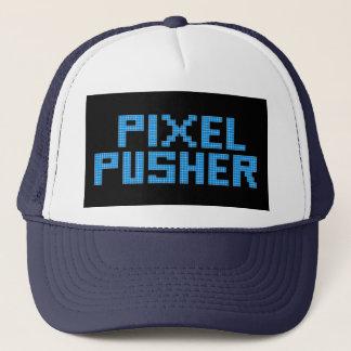 Casquette Poussoir de pixel