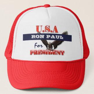 Casquette Président 2012 PERSONNALISER de Ron Paul