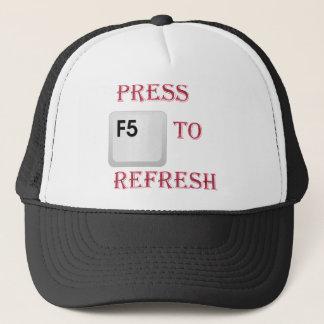 Casquette Pressez F5
