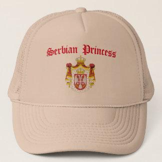 Casquette Princesse serbe (avec le manteau de la Serbie des