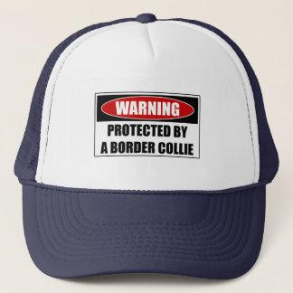 Casquette Protégé par border collie