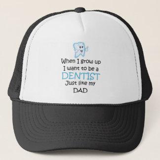 Casquette Quand je grandis le dentiste