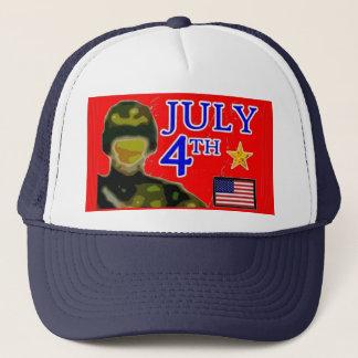 Casquette Quatrième d'art de juillet