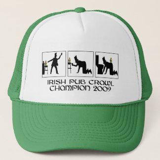 Casquette Rampement de pub irlandais drôle