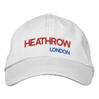 Casquette réglable d'aéroport de Londres Heathrow